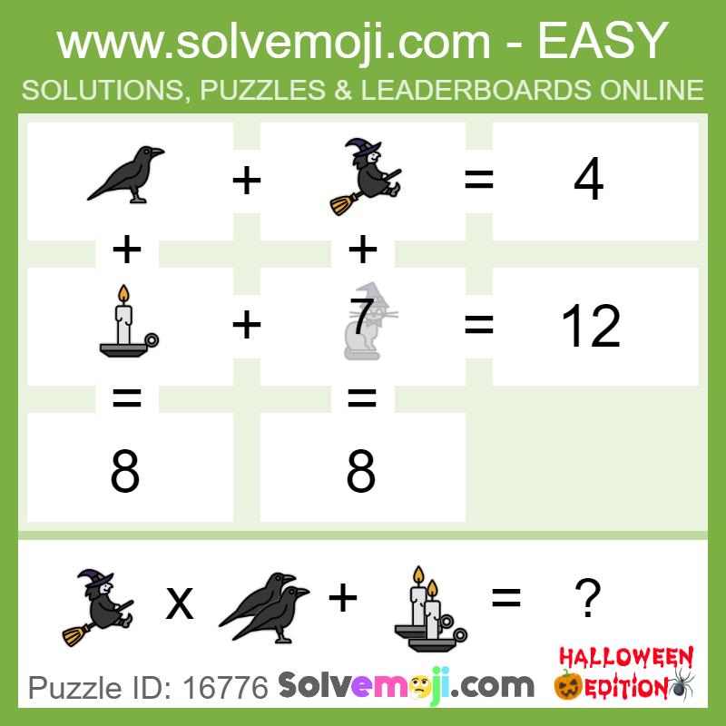 Solvemoji Emoji Math Puzzle 16776
