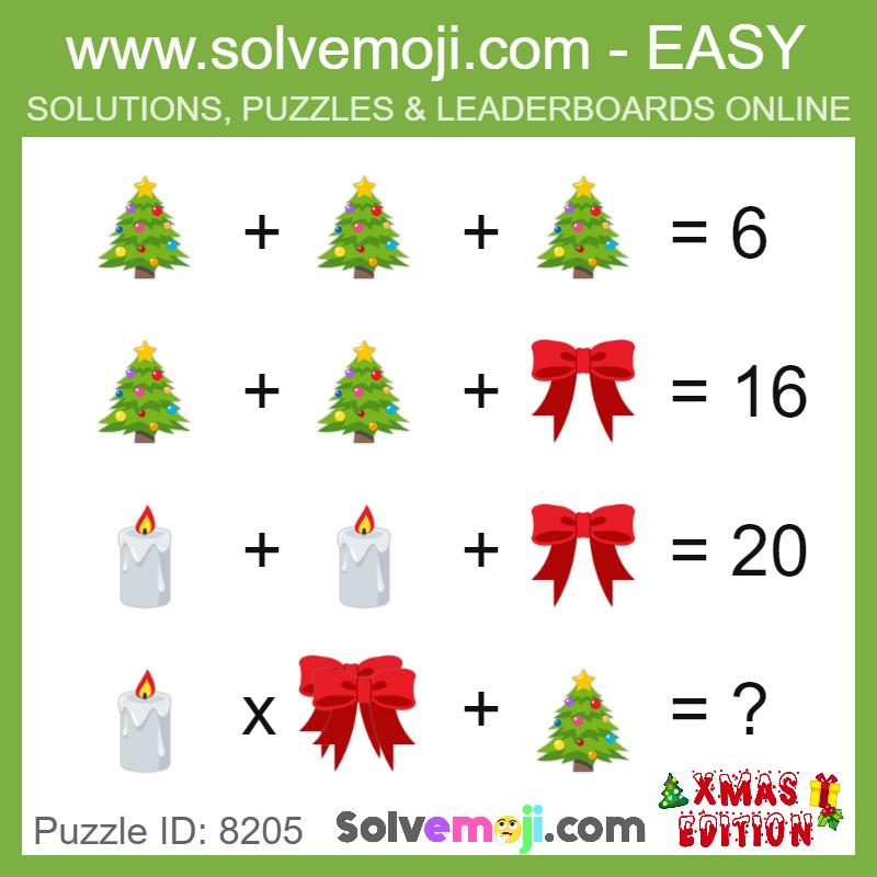Puzzle ID: 8205