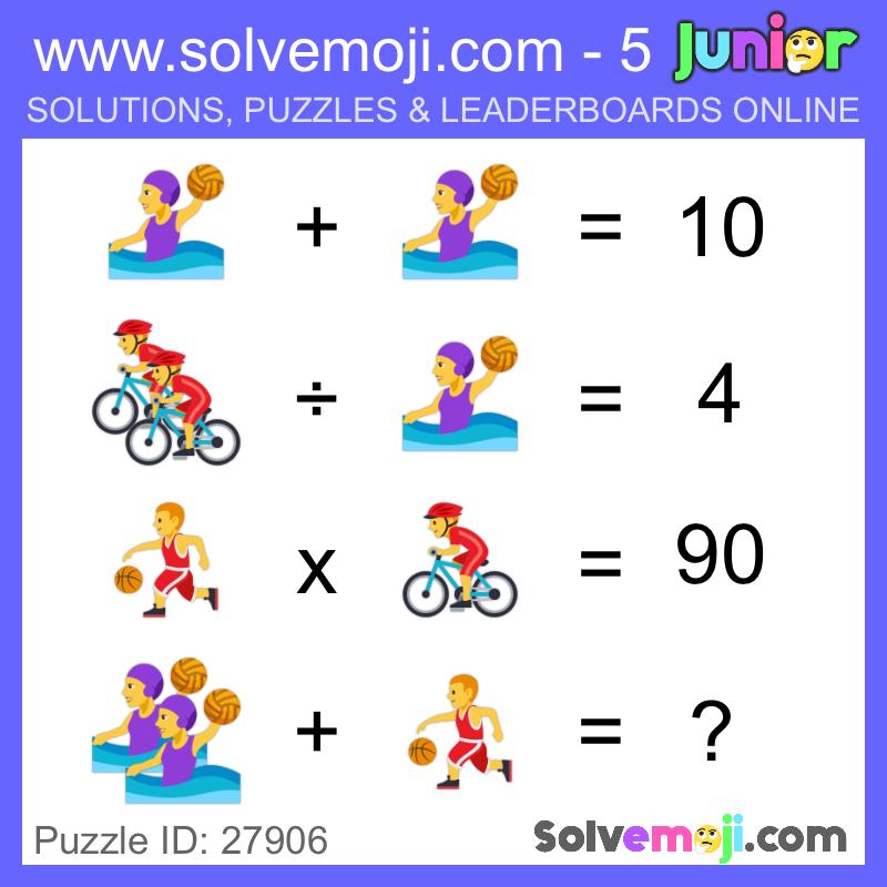 Solvemoji - Emoji Math Puzzles & Games